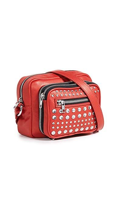 845a04144121c Amazon.com Alexander McQueen MCQ Women's Crossbody Bag, Riot Red, One Size  purse