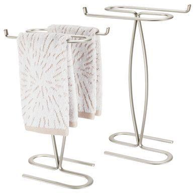 Fingertip Towel Holder For Bath Vanity Countertop Towel Holder