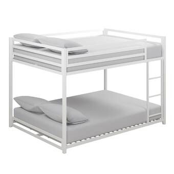 Amani Full Over Full Bunk Bed With Trundle Bunk Bed With Trundle