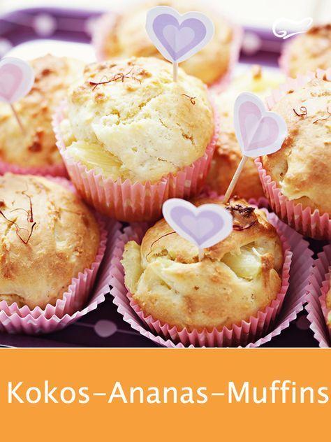 Kokos Ananas Muffins Rezept Ananas Kuchen Rezepte Muffins
