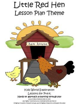 The Little Red Hen is a great story to help children learn about helping one another and to become a learning community.   With this 80 page lesson...