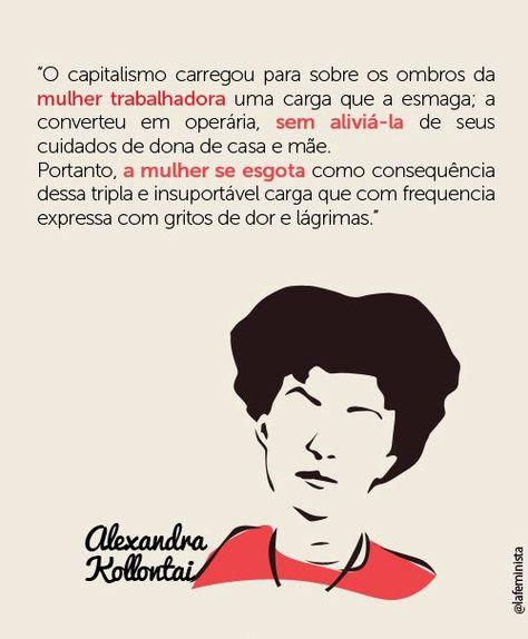 Alexandra Kollontai Citacoes Femininas Carinho Em Palavras