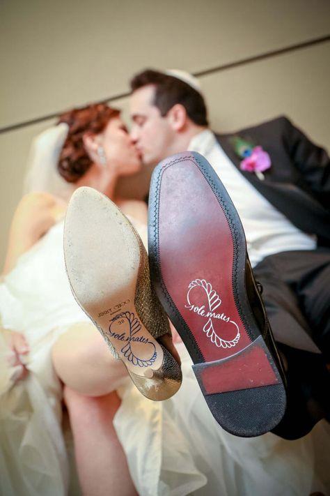6 Shoe-Bottom Details You'll Love | Photo by: SoleMatesShop | TheKnot.com