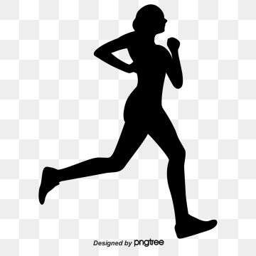 Running Silhouette Figures Vector Material Woman Run Movement Png Transparent Clipart Image And Psd File For Free Download Running Silhouette Silhouette Silhouette People