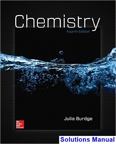 Chemistry 4th Edition Burdge Solutions Manual Chemistry