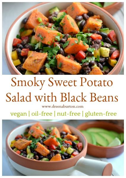 Smoky Sweet Potato And Black Bean Salad