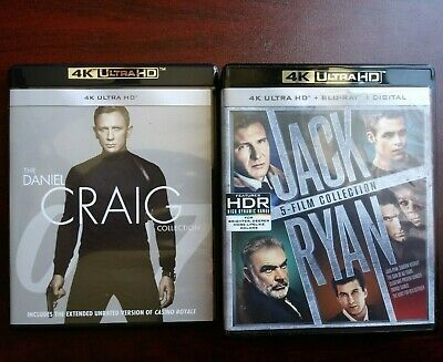 Details About Danielcraig Jamesbond Collection 4k Jackryan