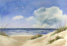 Original Pastell Landschaft Weg Zum Meer 21x29 5 In 2020