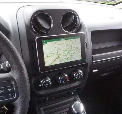 Replaced Stock Head Unit With Nexus 7 Tablet Jeep Patriot Forums