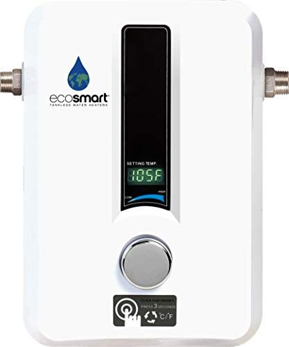 Save 25 On Ecosmart Electric Tankless Water Heaters Water Heating