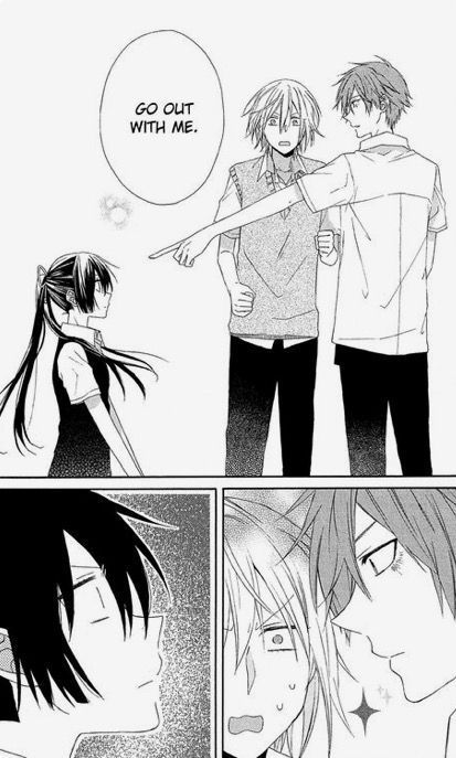 Gene X Reader Chapter 8 Shoujo Manga Shojo Manga Manga Romance