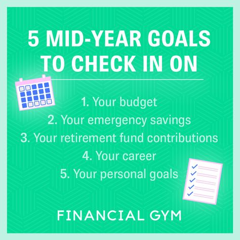 Mid Year Check In: Are You on Track With These 5 Goals