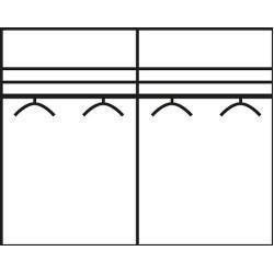 Sliding door wardrobes -  Wiemann Sunset sliding door wardrobe with glass WiemannWiemann  - #decorationsejour #diyhomedecorwood #diyInteriordesign #diylivingroomdecor #diylivingroomprojects #door #Sliding #wardrobes