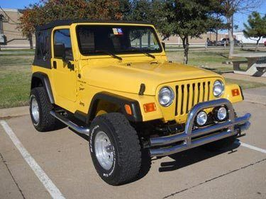 Best Yellow Jeep For Sale