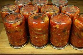 заготовки на зиму салаты новые рецепты