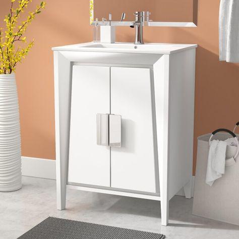 Emerson 24 Single Bathroom Vanity Set