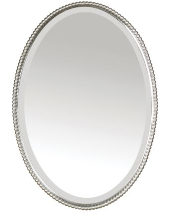 Uttermost Mirror Sherise 22x32 Reviews All Mirrors Home Decor Macy S Uttermost Mirrors Oval Mirror Mirror