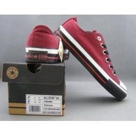 Converse Outlet All Star Chuck Taylor Canvas Low tops Red