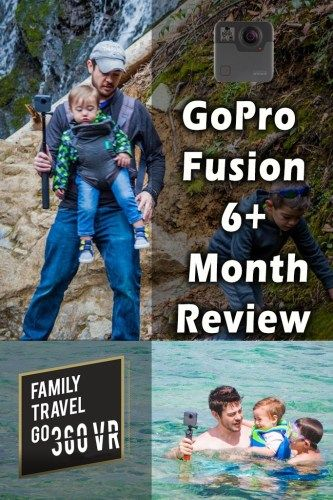 GoPro Fusion 6+ Month Review Photo of Dylan and boys with