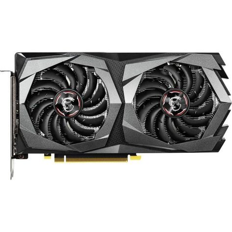 Msi Carte Graphique Nvidia Geforce Gtx 1650 Gaming X 4g Pci