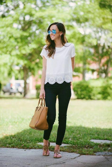 cercare prezzi al dettaglio Guantity limitata scallop hem top   Stili per bluse e Abbigliamento