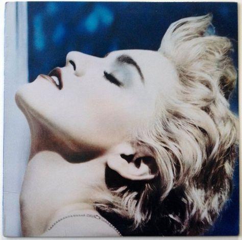 Madonna - True Blue LP Vinyl Record Album, Sire - 1-25442, Pop Rock, Synth-pop, 1986, Original Press