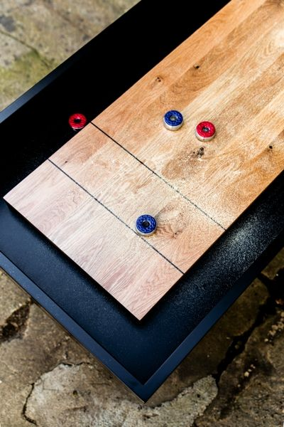 Bespoke Shuffle Board Tables Made In Canada Commercial