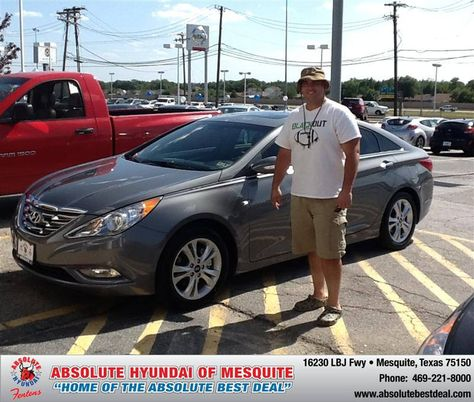 Jerry Michalak with Absolute Hyundai of Mesquite,TX provided great