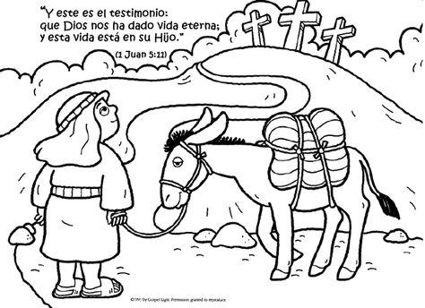 Dibujos Cristianos Para Colorear Textos Biblicos Imagui Texto