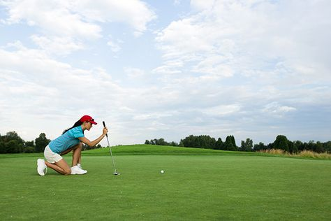 A Newbie Golfer's Guide to Golf (in GIFs) | From one golf beginner to another; were in this together. #SELFmagazine