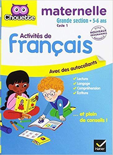 Activites De Francais Maternelle Grande Section Michel