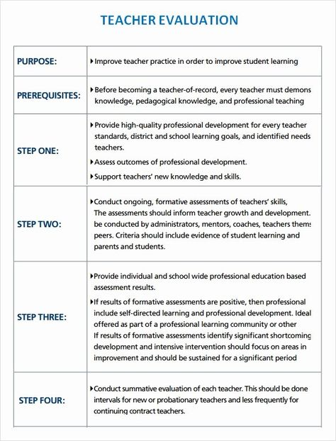 Student Performance Evaluation Examples Elegant Sample Teacher Evaluation 8 Documents In Word Pdf Teacher Evaluation Evaluation Form Training Evaluation Form