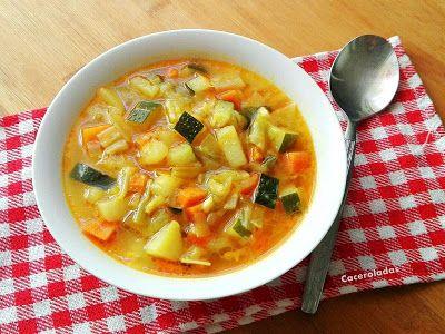 Sopa De Verduras Sopa De Verduras Platos De Verduras Sopa De Verduras Receta