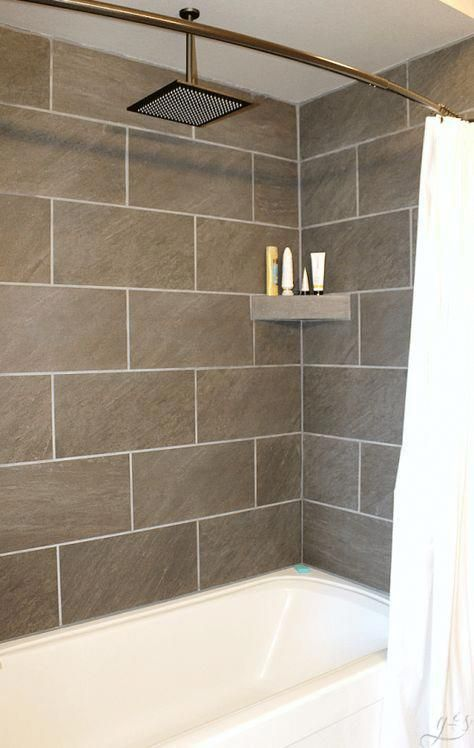 Diy How To Tile A Shower Surround With Tub This Master Suite