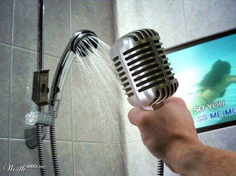 Karaoke Shower Contests Home Design Pinterest