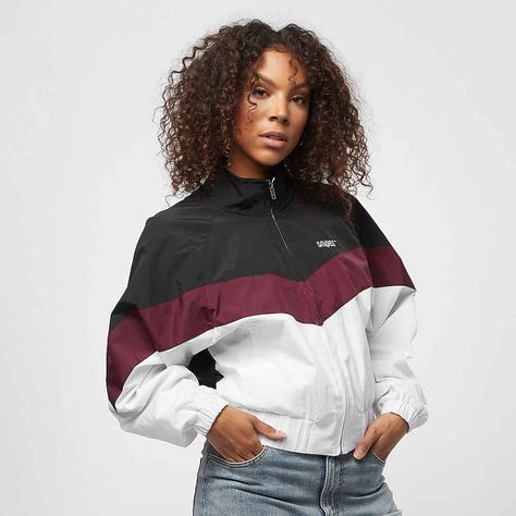 SNIPES Block Trackjacket blackwhite bei SNIPES | Jacken