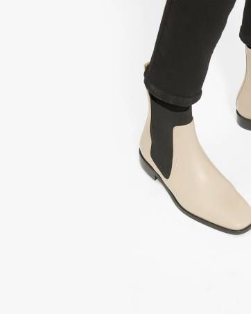 58cf05f4a1f The Square Toe Chelsea Boot - Everlane | Coveting | Boots, Chelsea ...
