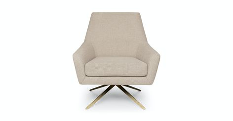 Spin Calcite Ivory Chair