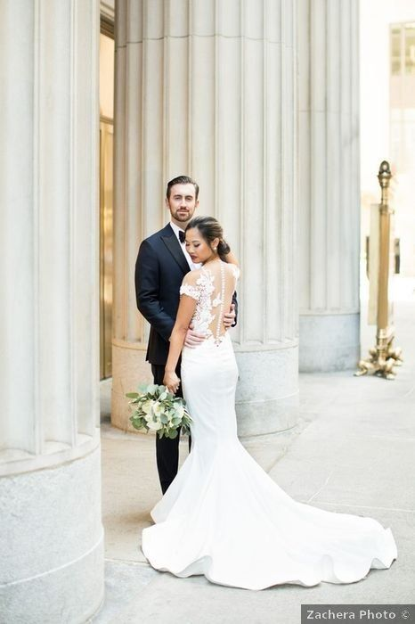 Brad And Arianne S Wedding In Chicago Illinois In 2020 Country Wedding Dresses Western Wedding Dresses Mermaid Dresses