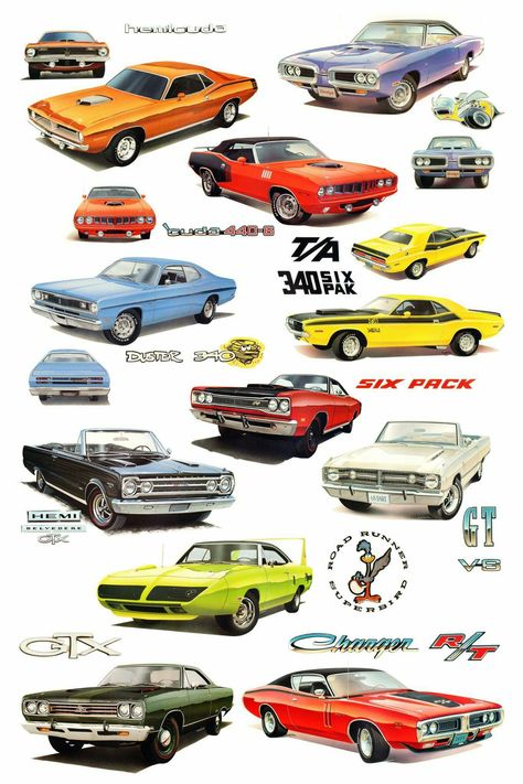 1968 Dodge Coronet Super Bee Foto Oldtimer Druck Retro Fahrzeuge Poster
