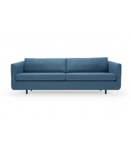 Frederiksberg, 3-seater sofa, Dina Petro, navy metal legs Sofa