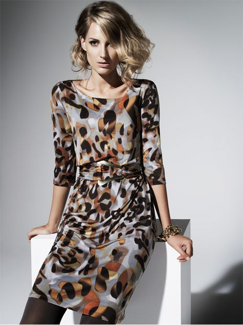 Beautiful Dress From Australian Designer Charlie Brown Love The Fabric And The Print Jersey Dress Fashion Dresses