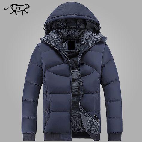 New Brand Clothing Winter Jacket Men Casual Parka Jacket