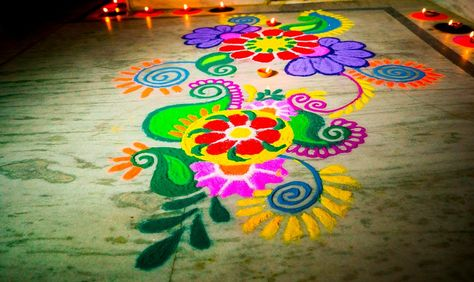 75+ Simple And Easy Rangoli Designs For Festivals In 2019