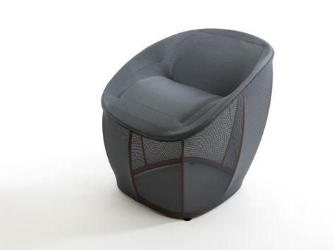 Wunderbarer Sessel   Lounge Sessel Membrane Benjamin Hubert