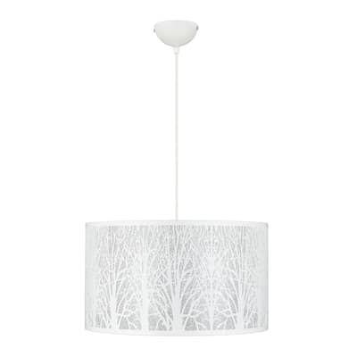 Lampadario Moderno Forest Bianco In Ferro D 40 Cm L 40 Cm 3 Luci Inspire Prezzo Online Leroy Merlin Lampadari Moderni Lampadario Lampada Da Scrivania
