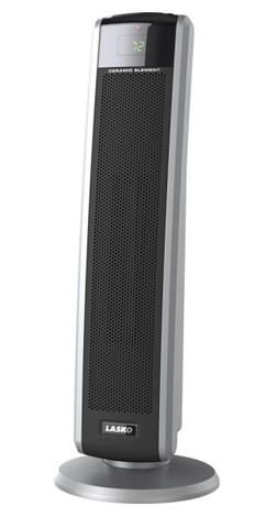 Lasko 1 500 Watt Digital Ceramic Tower Heater With Electronic Remote Control Tower Heater Lasko Heater