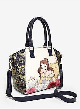 Disney Parks Boutique Loungefly Beauty /& Beast BELLE Crossbody Handbag Purse NWT