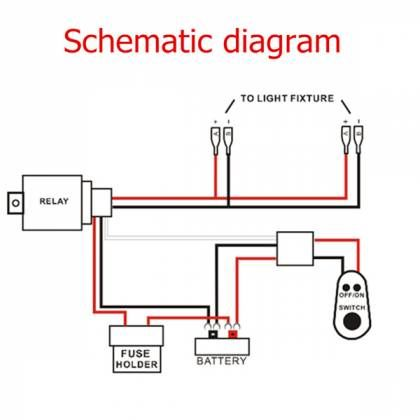 12 Light Relay Wiring Diagram Relay Diagram Switch