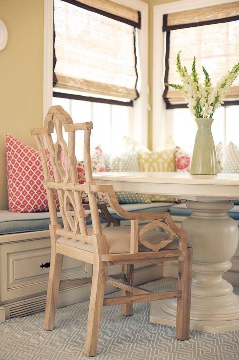 Sensational Perfect Breakfast Table Arrangement Love The Built In Bench Lamtechconsult Wood Chair Design Ideas Lamtechconsultcom